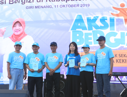 SEAMEO RECFON Contributes to Aksi Bergizi Program launching to improve adolescent nutrition in Indonesia