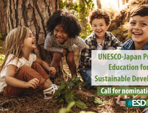 UNESCO-Japan Prize on ESD: Call for nominations 2021